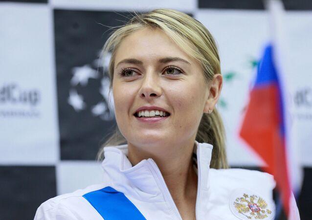 María Sharápova, extenista rusa