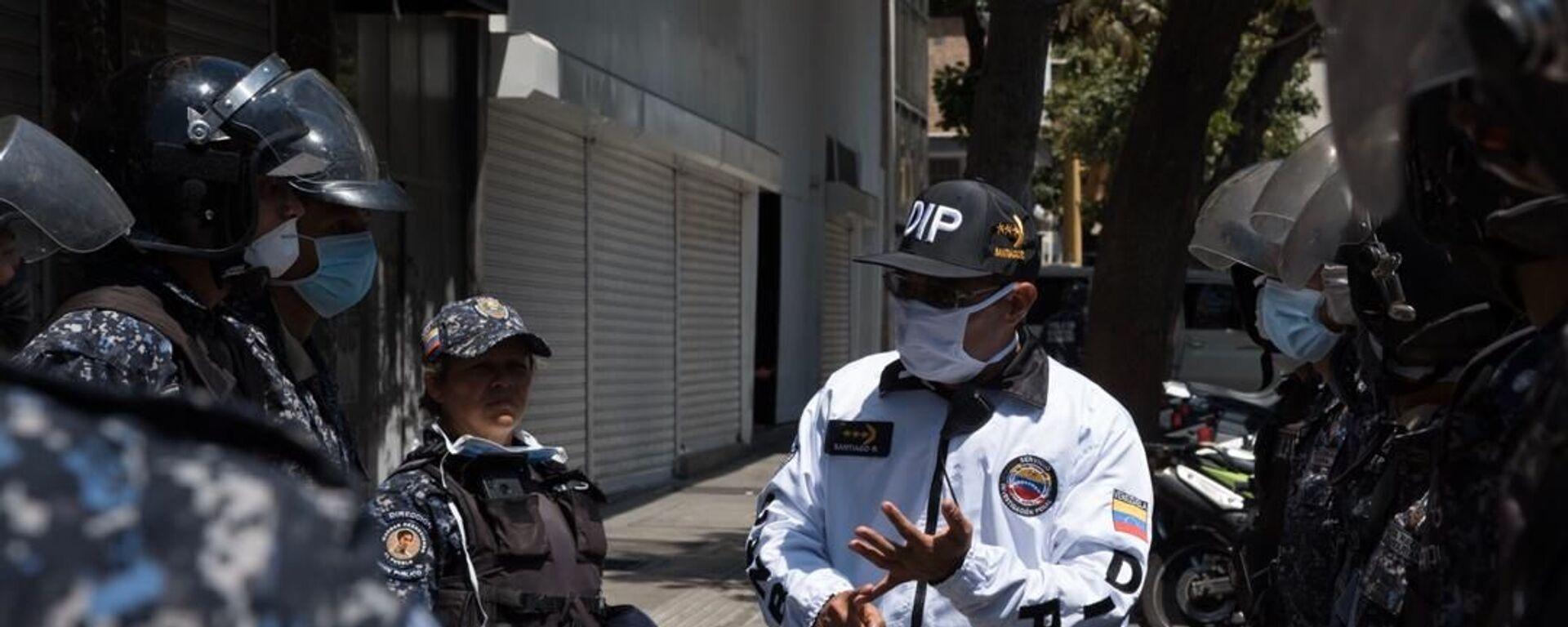 Cuerpos de seguridad en Venezuela (archivo) - Sputnik Mundo, 1920, 12.06.2021