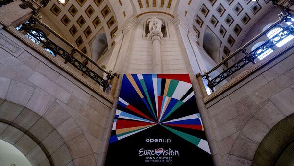 El logo de Eurovisión 2020 - Sputnik Mundo