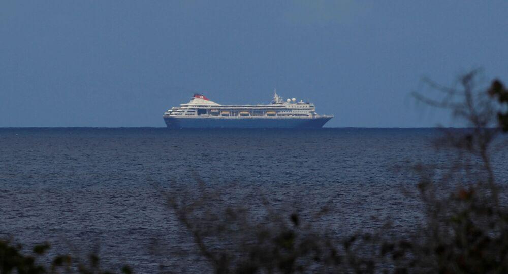 El crucero británico MS Braemar