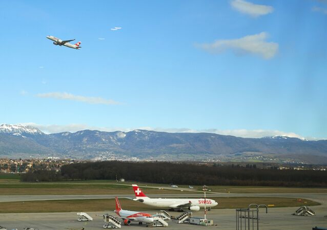 Aviones de Suiza