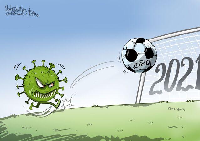 El coronavirus le mete un gol al fútbol europeo y sudamericano