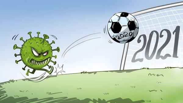 El coronavirus le mete un gol al fútbol europeo y sudamericano - Sputnik Mundo