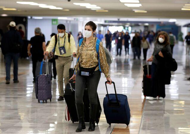 Un aeropuerto de México