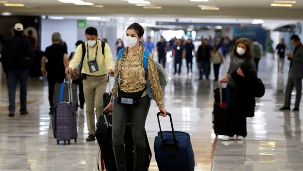 Un aeropuerto de México - Sputnik Mundo