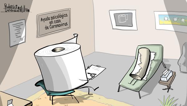 Pura emergencia: la crisis del papel higiénico llega hasta el servicio 911 - Sputnik Mundo