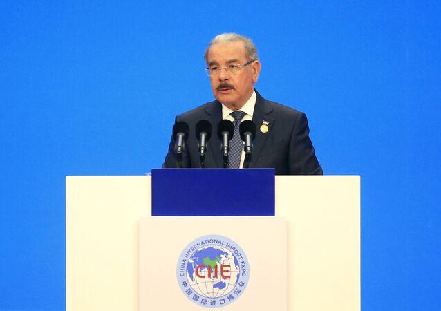 Danilo Medina, presidente de la República Dominicana