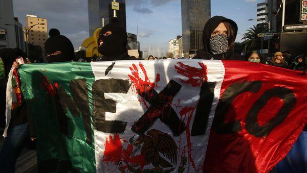 Protesta contra los feminicidios en México - Sputnik Mundo