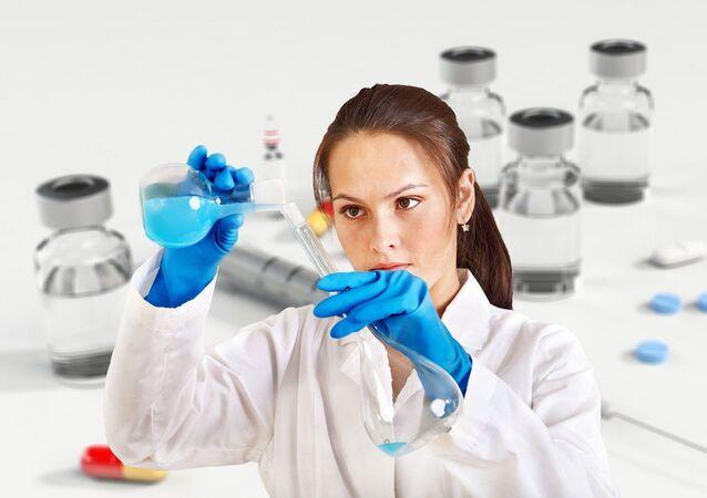 Una científica (imagen referencial)
