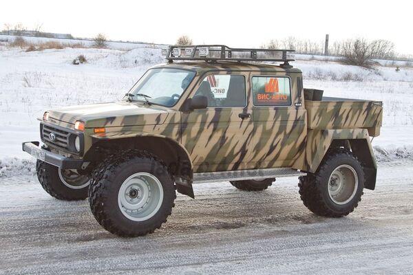 Una de las versiones especiales del Lada 4x4 (Niva).  - Sputnik Mundo