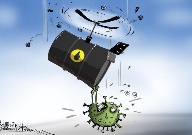 El coronavirus colapsa los precios del petróleo