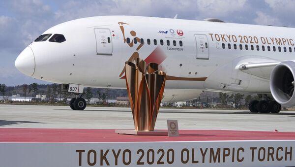 La antorcha de los Juegos Olímpicos de Tokio 2020 - Sputnik Mundo
