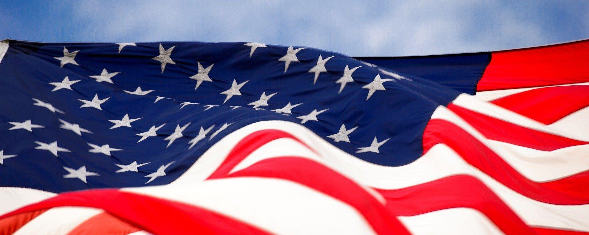 Bandera de EEUU - Sputnik Mundo, 1920, 16.06.2021