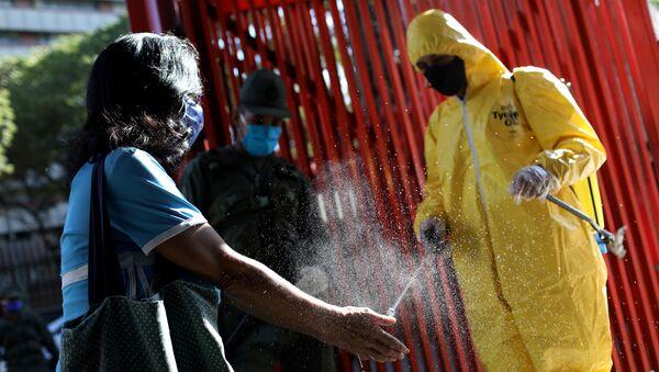 Desinfección en Venezuela - Sputnik Mundo