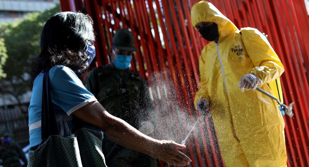 Desinfección en Venezuela