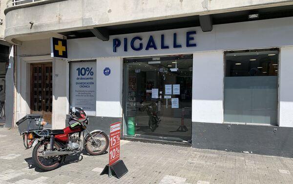 Farmacia Pigalle, en Pocitos, Montevideo - Sputnik Mundo