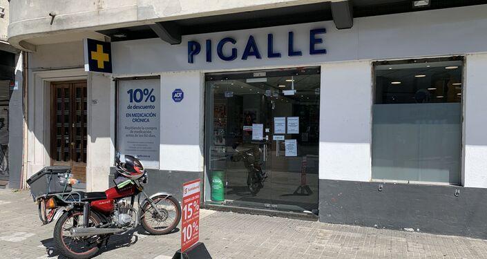 Farmacia Pigalle, en Pocitos, Montevideo