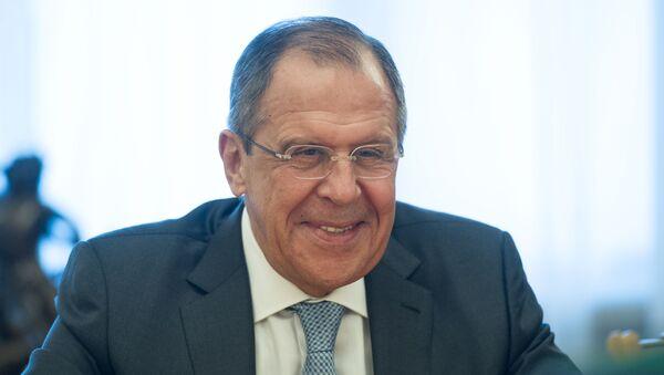El ministro de Asuntos Exteriores ruso, Serguéi Lavrov - Sputnik Mundo