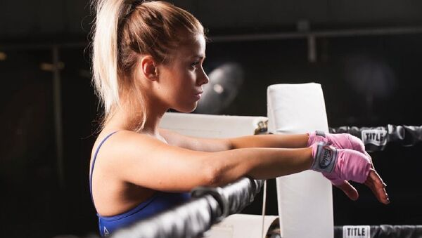 Paige VanZant, luchadora de la UFC - Sputnik Mundo
