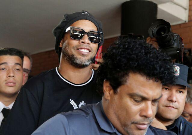 El exfutbolista brasileño Ronaldinho