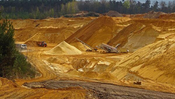 Trabajos de minería (imagen referencial) - Sputnik Mundo