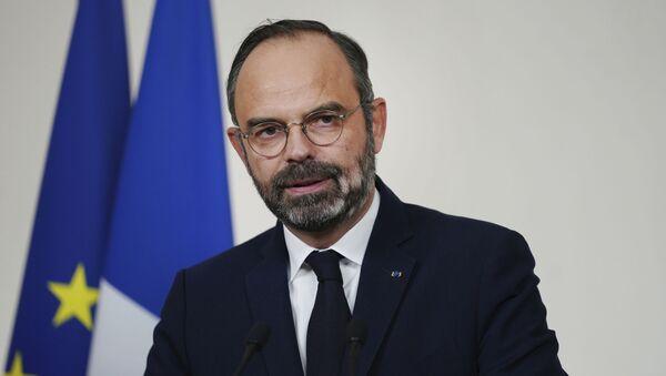Édouard Philippe, ex primer ministro de Francia - Sputnik Mundo