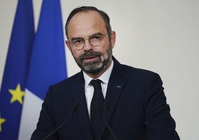 Édouard Philippe, ex primer ministro de Francia