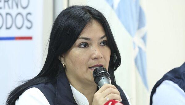 Catalina Andramuño, ministra de Salud de Ecuador - Sputnik Mundo