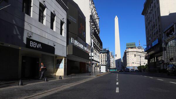 La cuarentena obligatoria en Buenos Aires - Sputnik Mundo