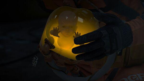 La captura de pantallla de videojuego de Hideo Kojima 'Death Stranding' - Sputnik Mundo