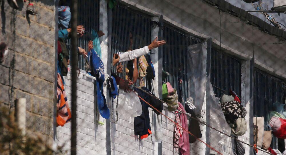 Cárcel La Modelo, en Bogotá