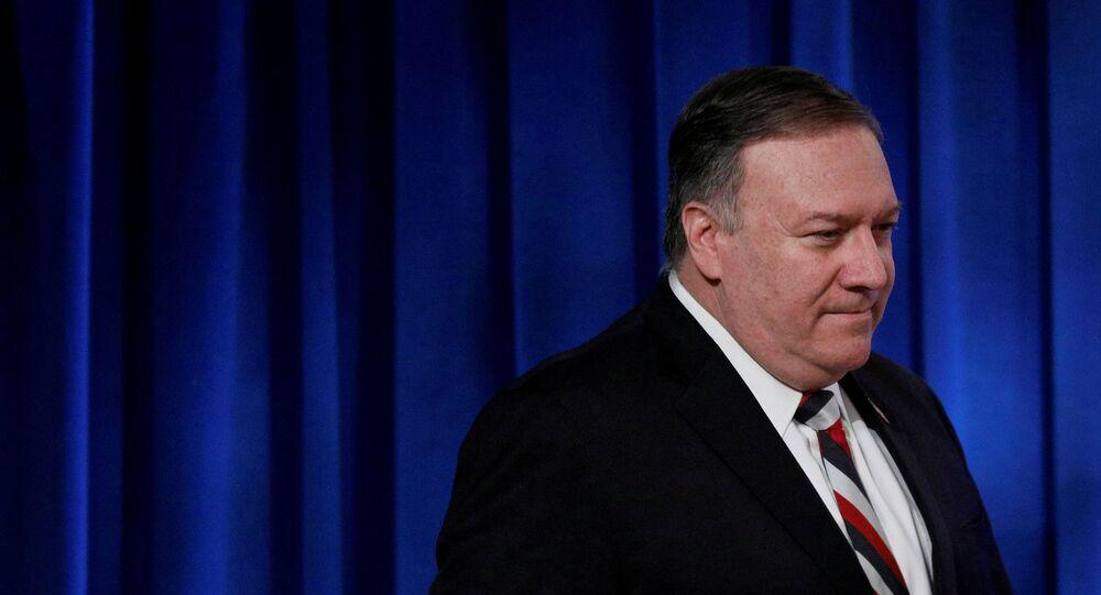 Mike Pompeo, el secretario de Estado de EEUU