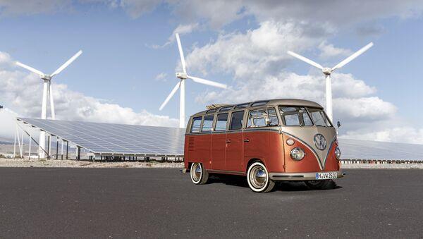 La furgoneta eléctrica de Volkswagen - Sputnik Mundo