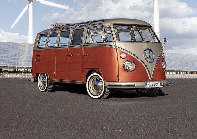 La furgoneta eléctrica de Volkswagen