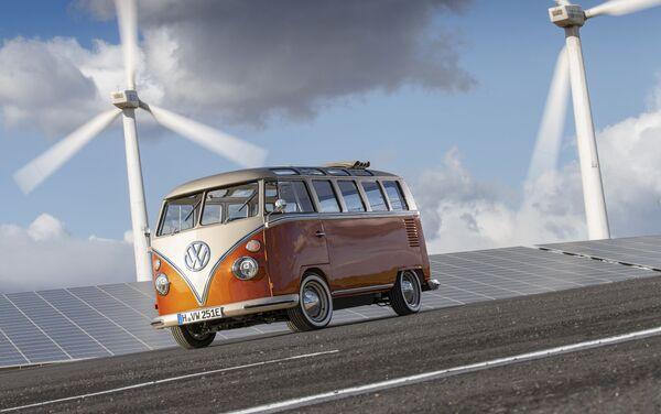 La nueva furgoneta eléctrica de VW - Sputnik Mundo