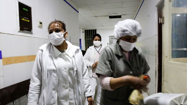 Un hospital en Bolivia - Sputnik Mundo