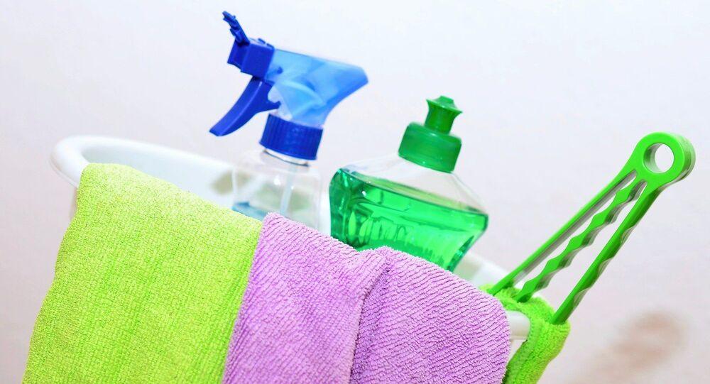 Artículos de limpieza. Imagen referencial