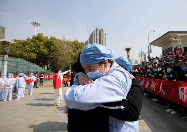 La situación en la ciudad china de Wuhan