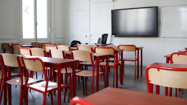 Una aula vacía  - Sputnik Mundo