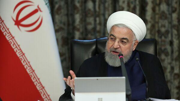 Hasán Rohaní, el presidente de Irán - Sputnik Mundo