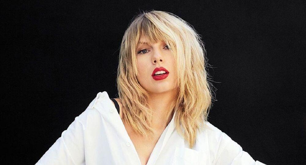 Taylor Swift, cantante estadounidense