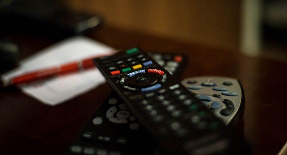 Mando de la televisión