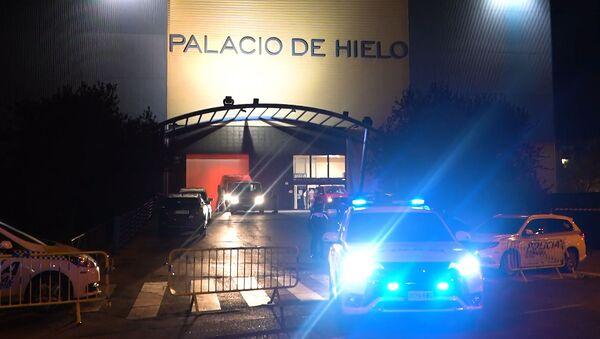 El Palacio de Hielo de Madrid, convertido en morgue - Sputnik Mundo