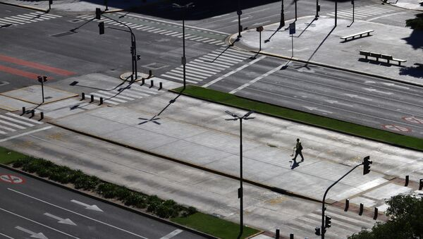 Carretera en Buenos Aires, argentina, durante el brote de coronavirus - Sputnik Mundo