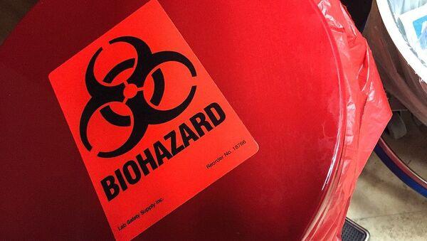 Símbolo del riesgo biológico - Sputnik Mundo