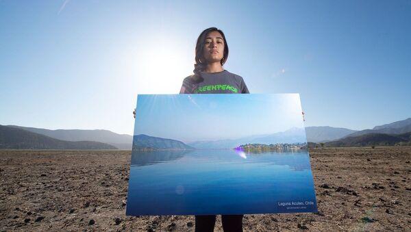 Laguna de Acúleo, Región Metroplitana, Chile - Sputnik Mundo