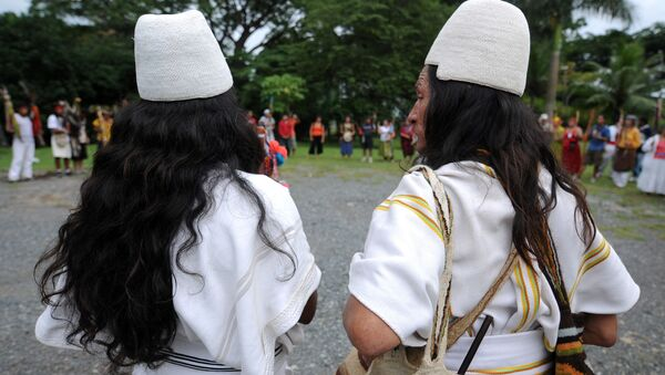 Indígenas arhuacos de Colombia - Sputnik Mundo