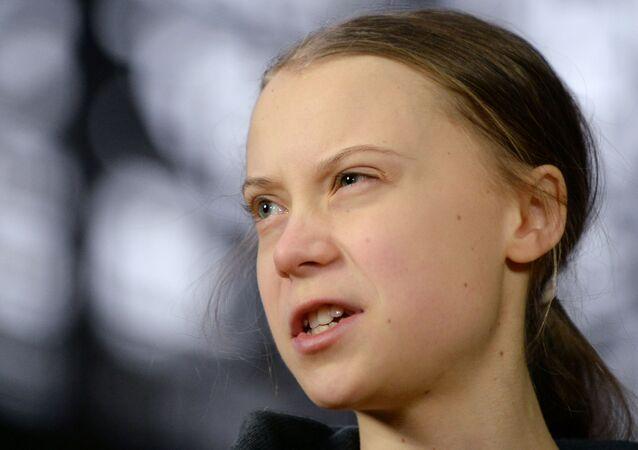 Greta Thunberg, activista medioambiental