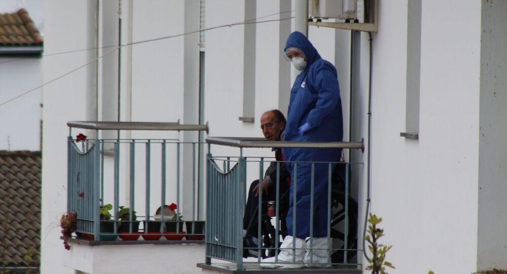 Residencia de ancianos en España (archivo)