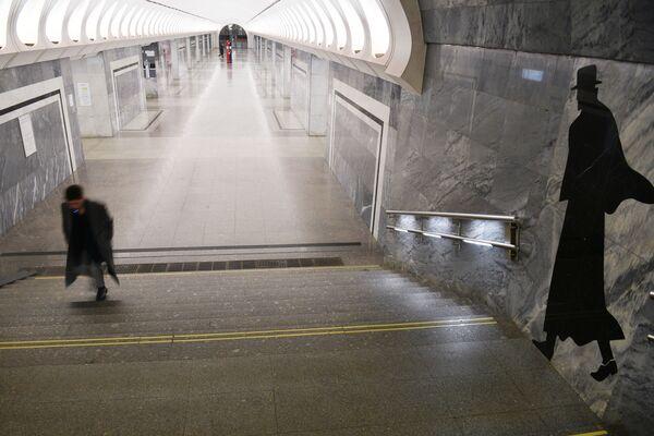 El metro de Moscú queda vacío por la pandemia  - Sputnik Mundo